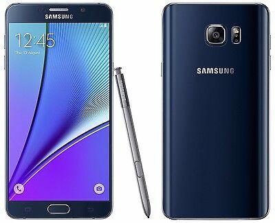 Samsung Galaxy Note 5 SM-N920S 32GB UNLOCKED Black Note5 Mobile