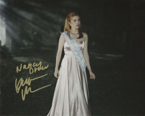 Kennedy McMann Nancy Drew Autographed Signed 8x10 Photo COA 2019-69