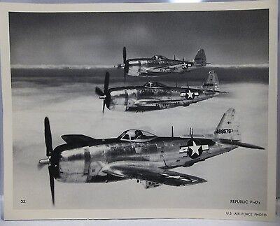REPUBLIC P-47C THUNDERBOLT AIRCRAFT ZZ-185 8X10 PHOTO