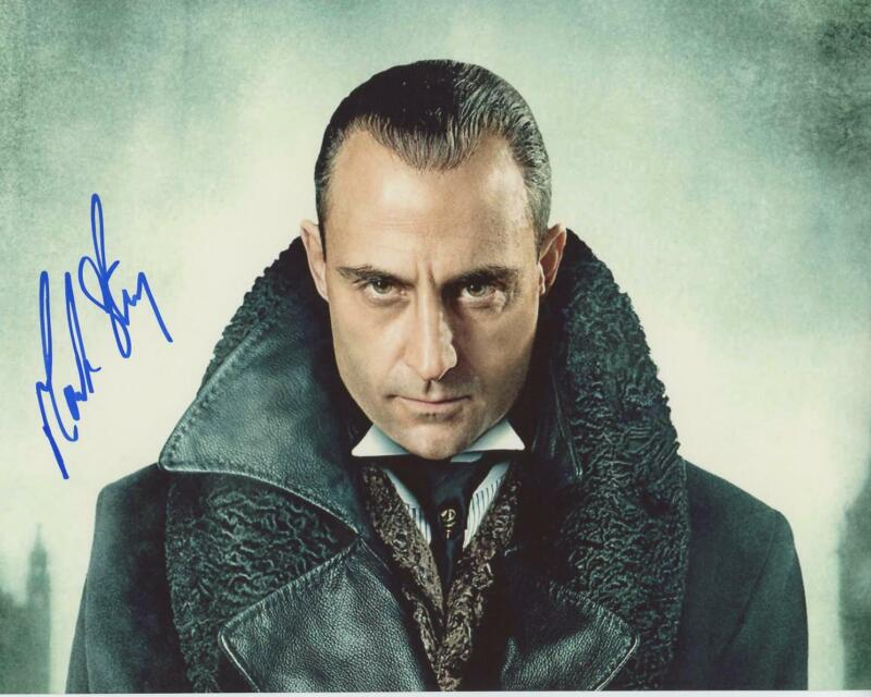 "Mark Strong ""Sherlock Holmes"" AUTOGRAPH Signed 8x10 Photo"