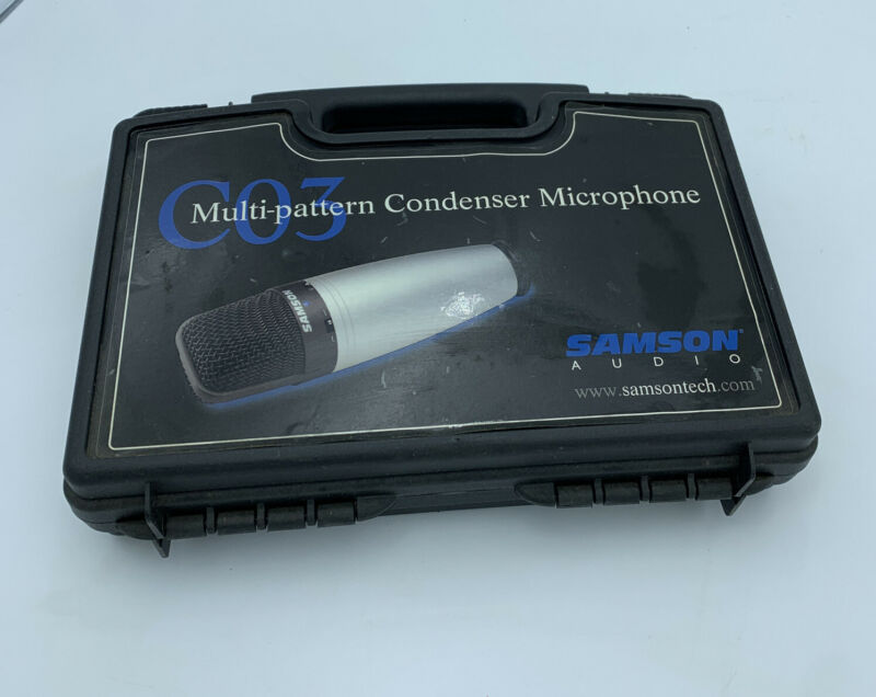 Samson C03 Multi-Pattern Condenser Microphone With Case