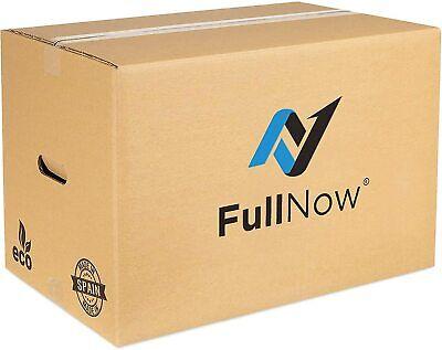 Pack 10 Cajas de Cartón Mudanza Grandes con Asas Ultraresistentes 55x35x38cm
