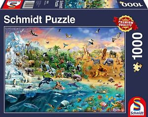 Animal Kingdom Schmidt Jigsaw Puzzle 1000 pieces 58324