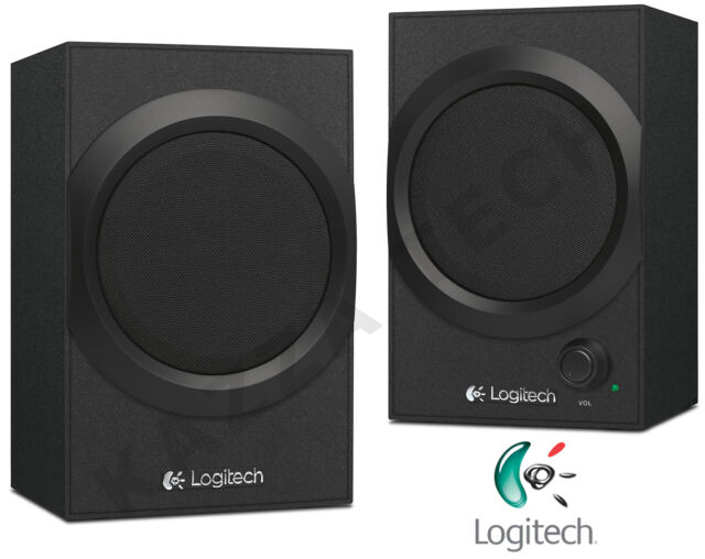 Logitech Z240 Black Multimedia 20W 3.5mm Speakers PC Laptop Desktop Smartphone