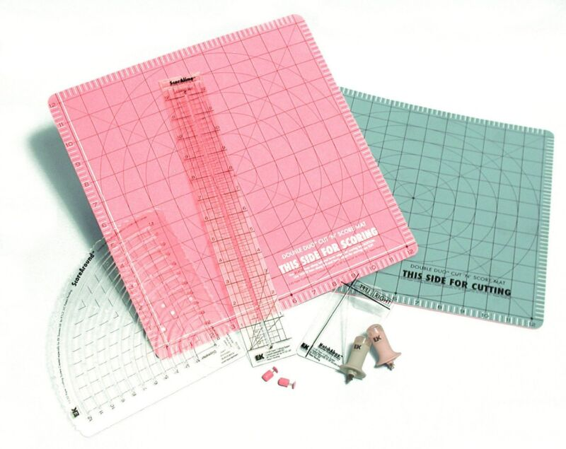 Cutter Bee 1-2-3D Paper Crafting System Envelope template maker pillow boxes