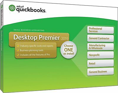 QuickBooks Desktop Premier 2019 [PC Disc] for sale  Shipping to South Africa
