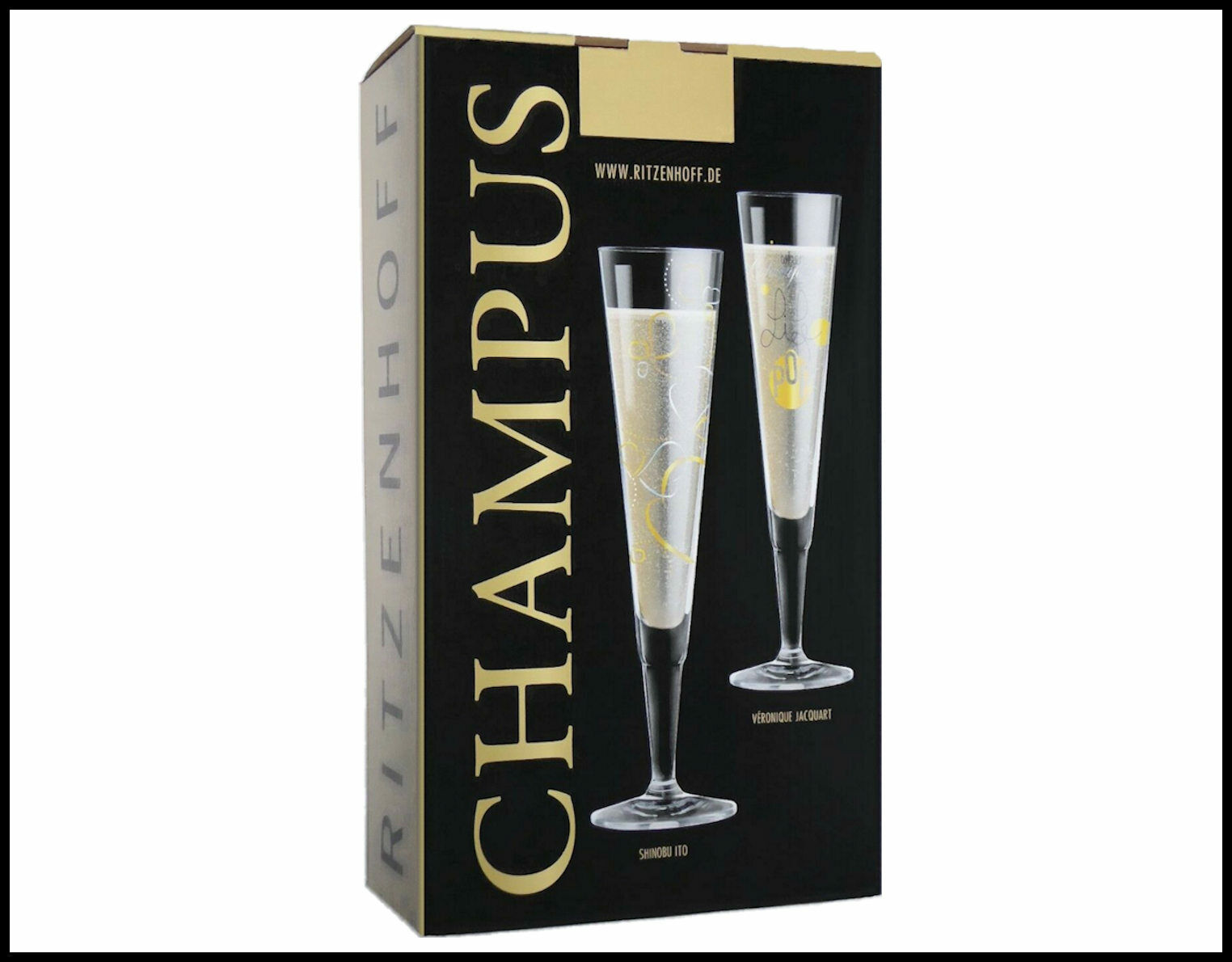 Champagnerflöte 0,2l Iris Interthal 2017 Ritzenhoff CHAMPUS Champa Sektflöte