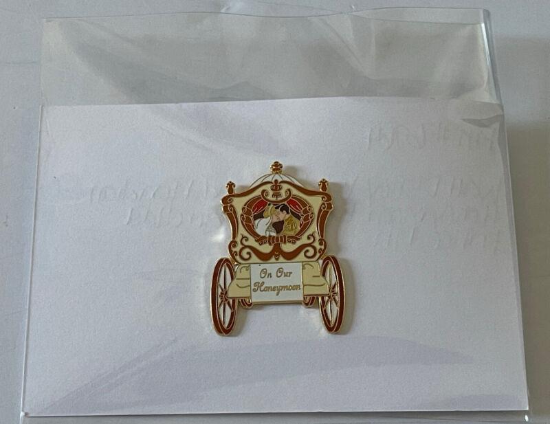 Disney WDW Grand Floridian Honeymoon Package Cinderella & Prince VHTF Pin