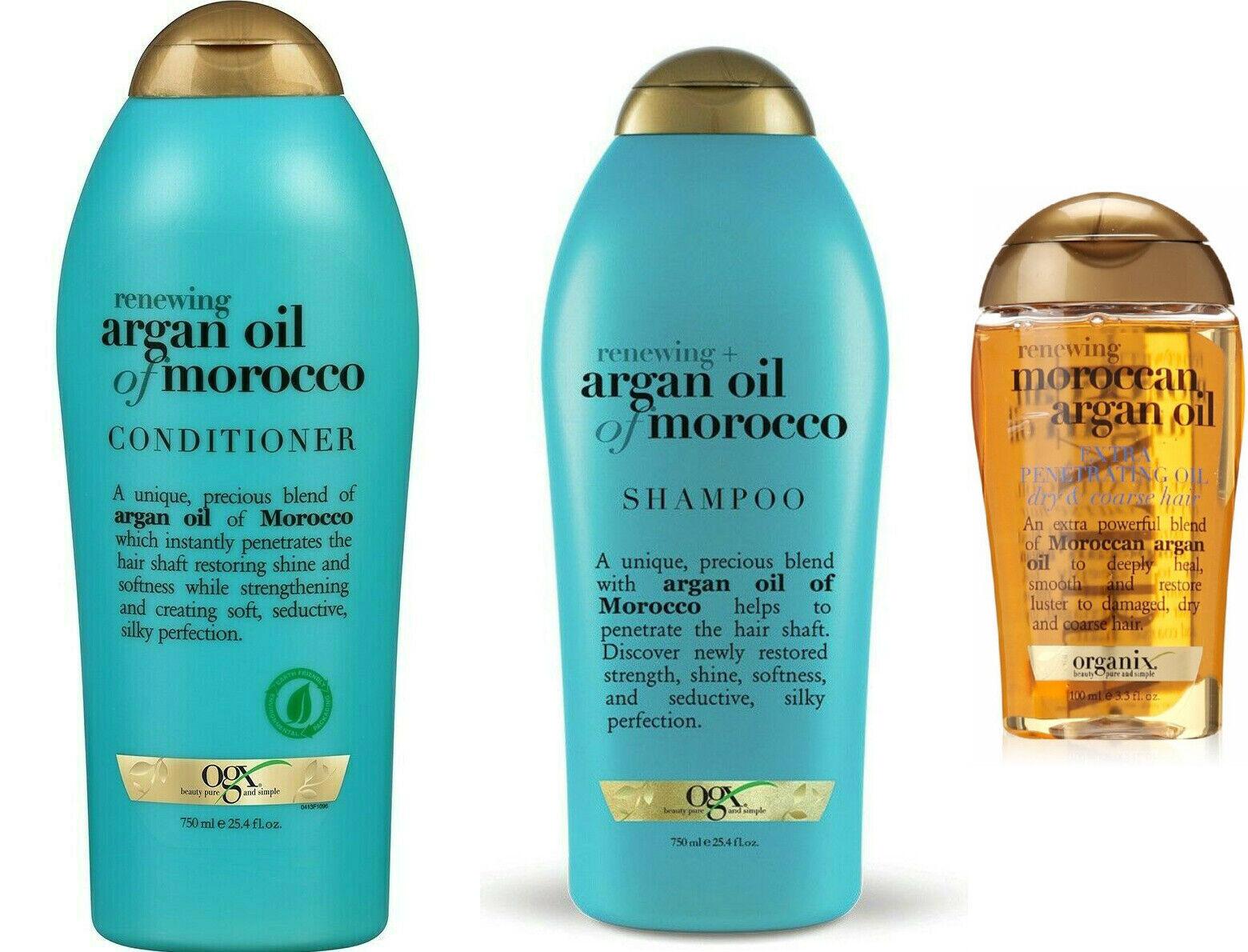 OGX Renewing Argan Oil of Morocco Shampoo & Conditioner 25.4