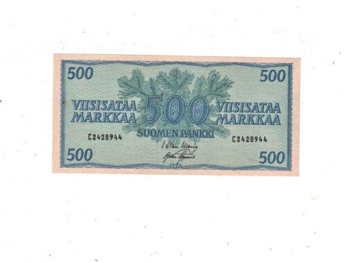 Finland 1956 500 Markkaa P96 AU PB1