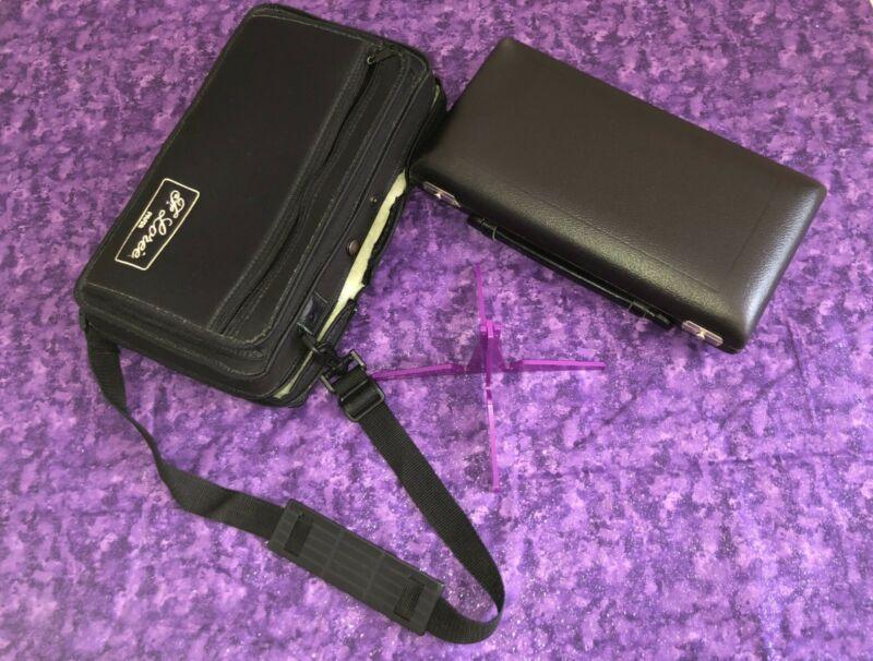 Loree Oboe Case & Thermal Case Cover plus free Loree purple oboe stand