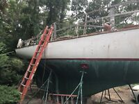 1959 Lawson 35' Sailboat Gray C Scout Inboard Waquoit, MA | No Fees & No Reserve