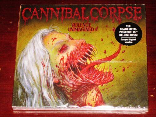 Cannibal Corpse: Violence Unimagined - Limited Edition CD 2021 EU Digipak NEW