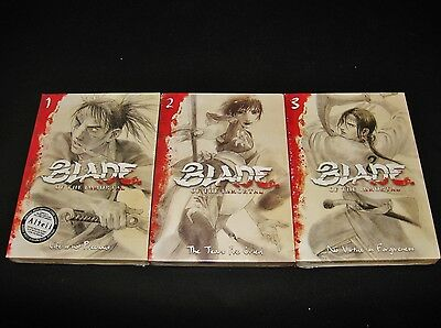 Blade Of The Immortal  Complete Series   Brand New Vol  1 2 3 Anime Dvd Set