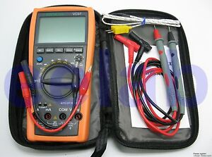 New VC97+ 3999 Auto range multimeter AC DC R C F Temp