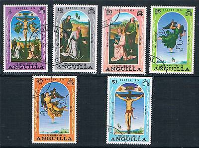 Anguilla 1974 Easter SG 174-9 USED