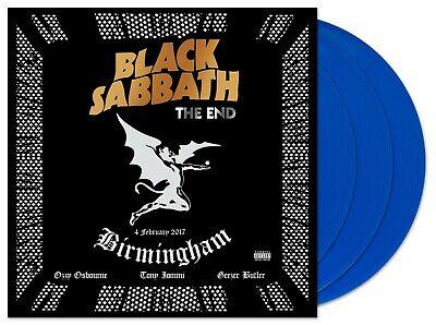Black Sabbath - The End - New Blue 180g Vinyl 3LP