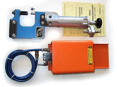General Pneumatic 6000 Cs 3x3 Bench C-yoke Compression Rivet Squeeze Squeezer