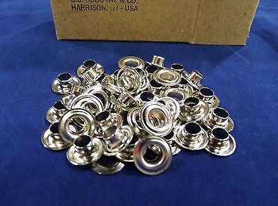 C.S.OSBORNE #N1-0 Size 0 Nickel Grommets and Washers