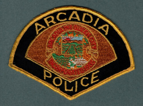 Arcadia California Police Patch  *Queen City*