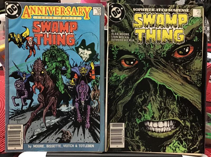 Swamp Thing 9 Issues Lot 49,50 Justice League Dark 53,59,79,84 Saga 19,23