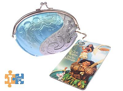 """Moana Heart of Te Fiti Coin Purse 2017 Official Disney Store """"NEW"""""""