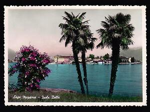 LAGO-MAGGIORE-ISOLA-BELLA-VERBANIA-CARTOLINA-FG-VG-1954-FOTO-CAPUCCI-BROMOSTAMPA