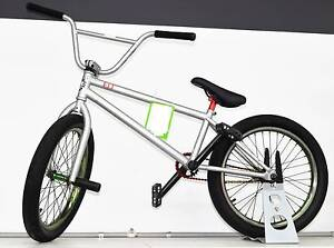 "2013 Fit Bike Co. Benny 2 BMX Bike Silver 9"" #737150 Ipswich Ipswich City Preview"
