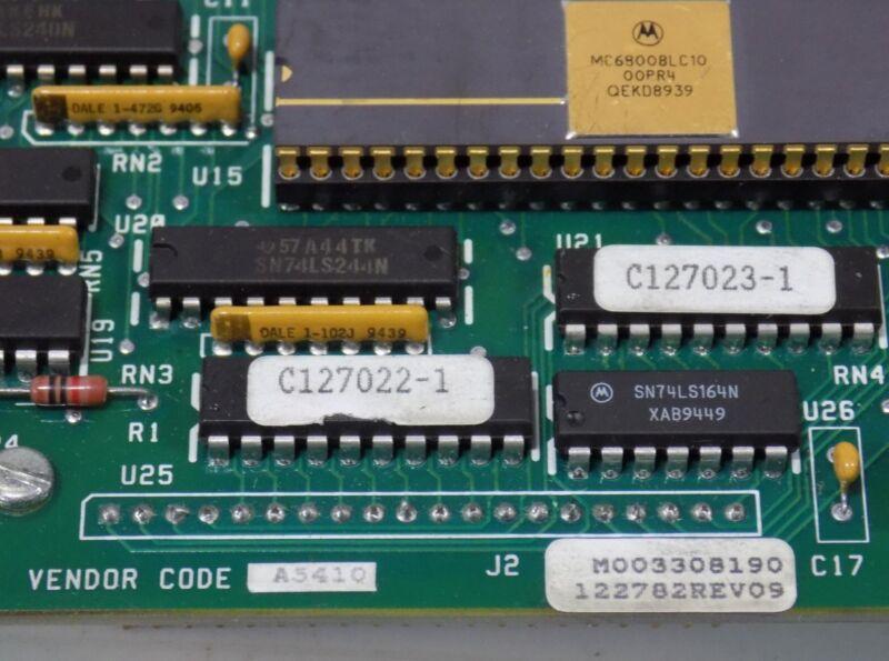 GOSS/ROCKWELL MEMORY BOARD   E19161-1 REV-06