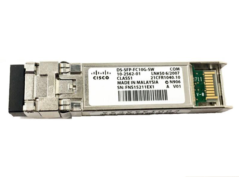Ds-sfp-fc10g-sw Cisco Mds 9000 10-gbps Fc Shortwave Sfp+ Lc Transciever