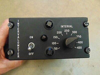 Douglas Aircraft Intervalometer Control Panel, A-4 Skyhawk A-1 Skyraider, AD, 1H