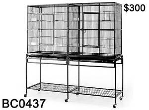 Top Quality 154 CM Twin Dual Double Large Pet Bird Cage Parrot Derrimut Brimbank Area Preview