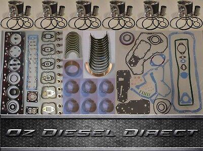 6bt 5.9l 6 Cylinder 12v Dodge Ram Overhaul Rebuild Kit For Cummins 6bt