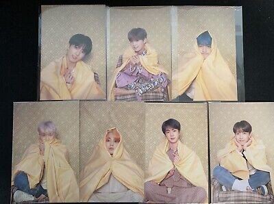 [BTS] OFFICIAL PHOTO CARD; Map Of The Soul PERSONA  (7 Full Members)