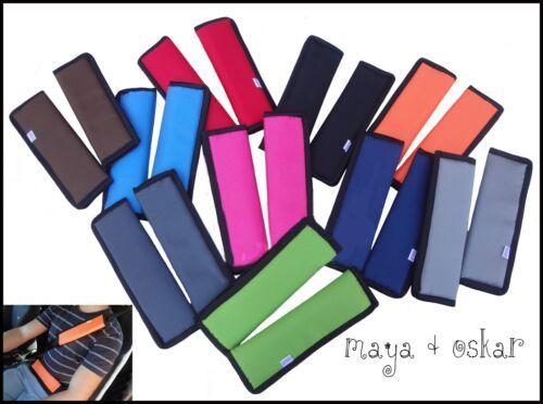 2pc Pushchair Pram Safety Car Seat Belt Strap Shoulder Pads Cover Harness Pad