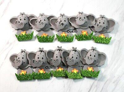 Elephant Themed Baby Shower (Cute 3D Elephant Baby Shower Safari Jungle Animal Theme Party Decor Boy)
