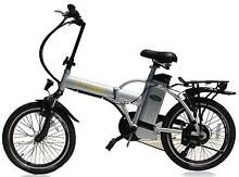 2016 Silver E-Bike Folding Electric Bicycle 36V (BRAND NEW)