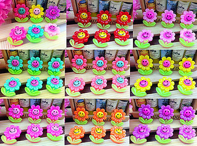 Sunflower Resin - DIY 10/50/100pcs Sunflower flower Flatback Resin Cabochon Scrapbooking,Crafts