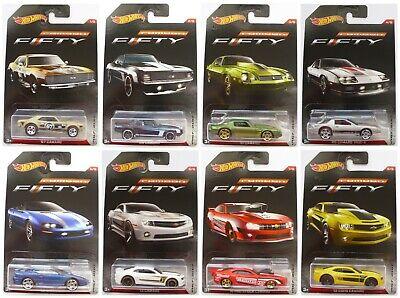 2017 Hot Wheels Walmart FIFTY Camaro 50th Anniversary - Y*O*U*-*P*I*C*K