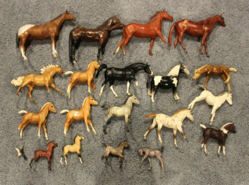 BIG Lot of Breyer Traditional and Classic horses for custom bodies