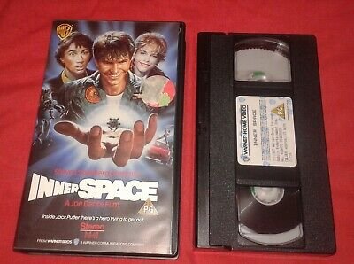 INNER SPACE vhs small box