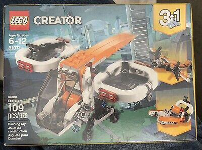 NEW Lego Creator 3 in 1 Drone Explorer / Plane / Swamp Boat 31071 RETIRED
