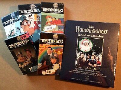 HONEYMOONERS VHS TAPE LOT: HOLIDAY CLASSICS LIMITED + 5