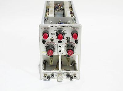 Tektronix Type 3s2 Sampling Unit Plug-in Without Heads