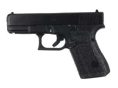 Talon Grips for Gen 5 Glock 19 with No Backstrap Rubber Texture 382R