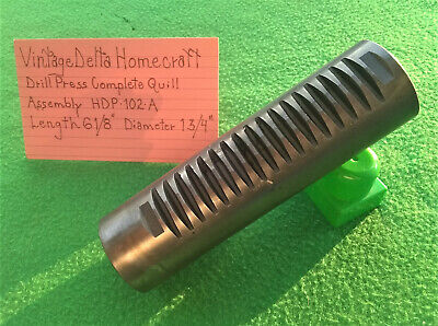 Vintage Delta Homecraft Drill Press Complete Quill Assembly Hdp-102-a