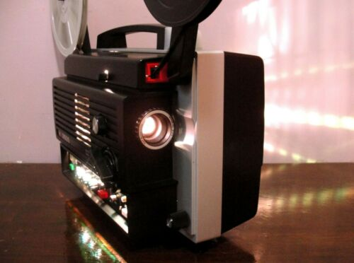 Gaf 3100 S - Sound Movie Telecine Adjustable Speed Projector ~ SERVICED~