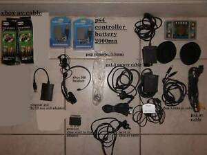 console accessorizes games, psp/xbox/playstation 2,fr $5