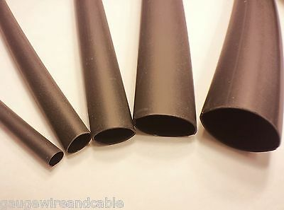 3m Heat Shrink Tubing Eps-300 31 Adhesive Glue Lined Tubes 5ft Assortment Black