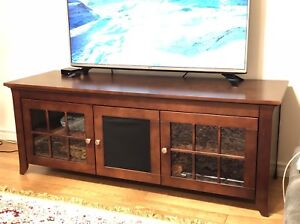 Console TV Brun 60 pouces / Brown 60 inch Tv stand